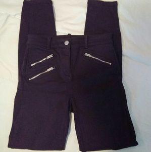 GAP 00 Purple Modern Stretch Skinny Jeans